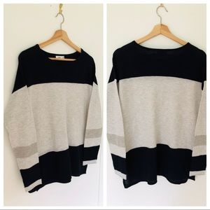 Vince City Color Block Sweater